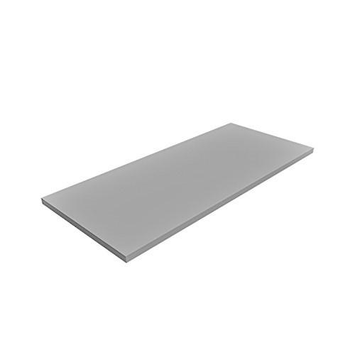 2 er Set - 2 Stück Regalboden Einlegeboden LICHT-GRAU 767 x 437 mm (L 76,7 cm x B 43,7 cm) Fachboden