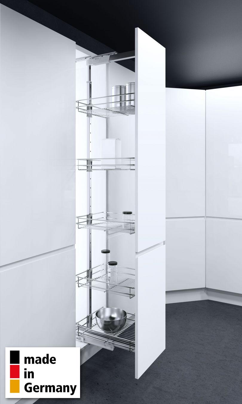 Vauth-Sagel© Hochschrankauszug HSA Apothekerauszug Schrankausstattung Küchen-Schrank-Körbe Höhe 1700