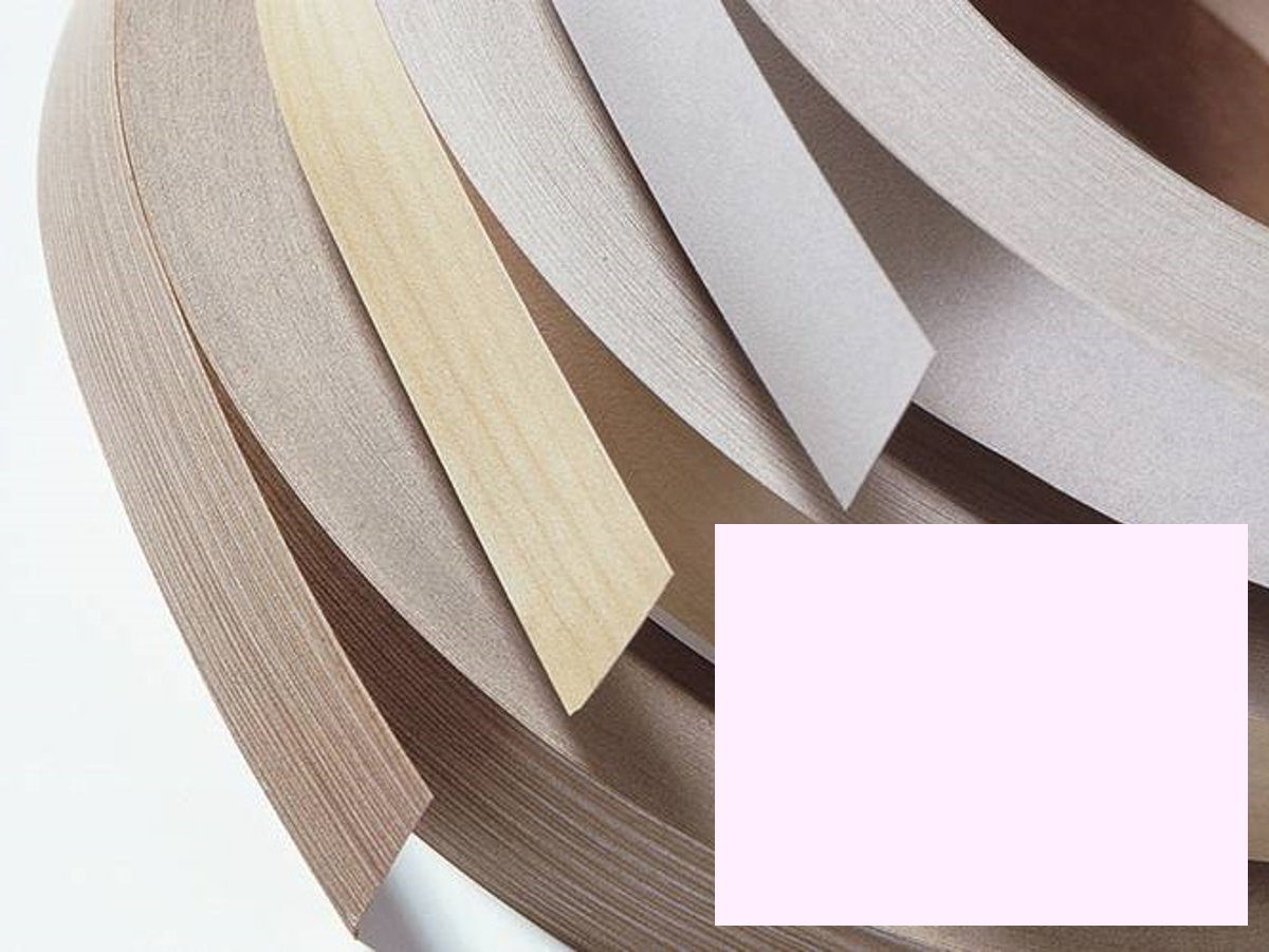 Kantenumleimer, Bügelkante, Melaminkante mit Schmelzkleber für Möbelbauplatten und Regalbretter - 5