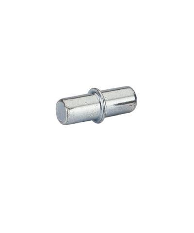 Bodenträger Duplo mit Rand für 5mm Lochreihe Stahl chromatiert , 100 Stück