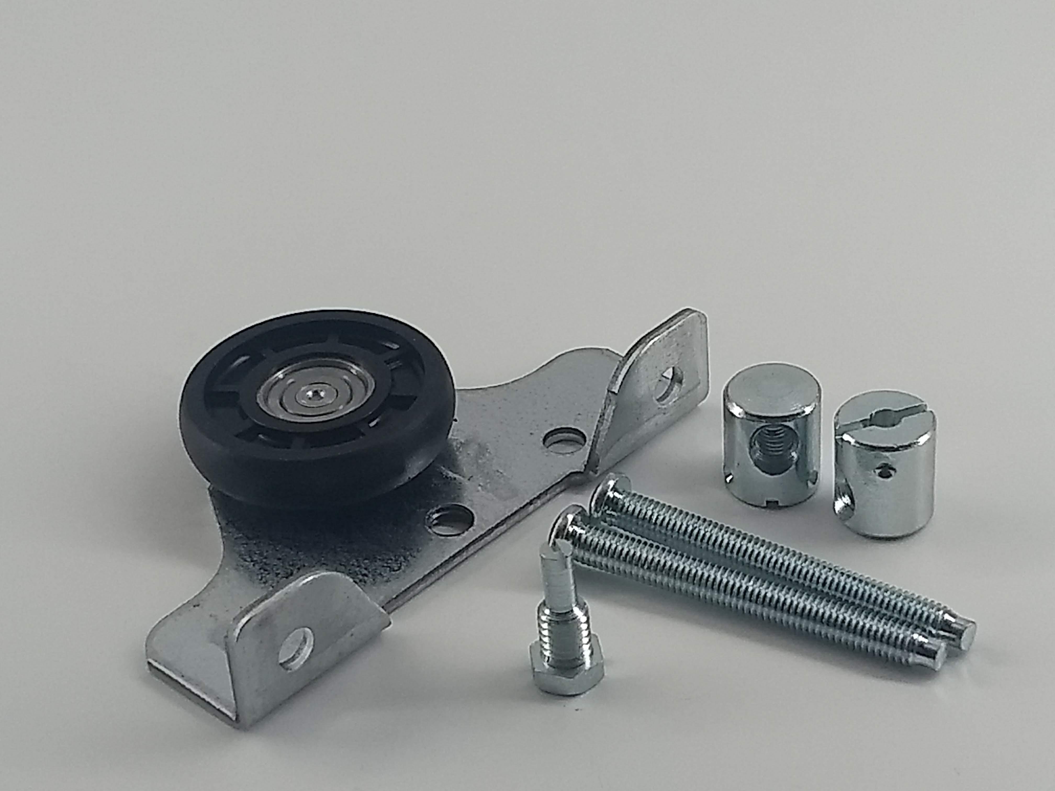 Livindo 1 Stck. Laufteil für Schiebetürbeschlag mit Schrauben Schwebetüren-Kleiderschrank Hettich To